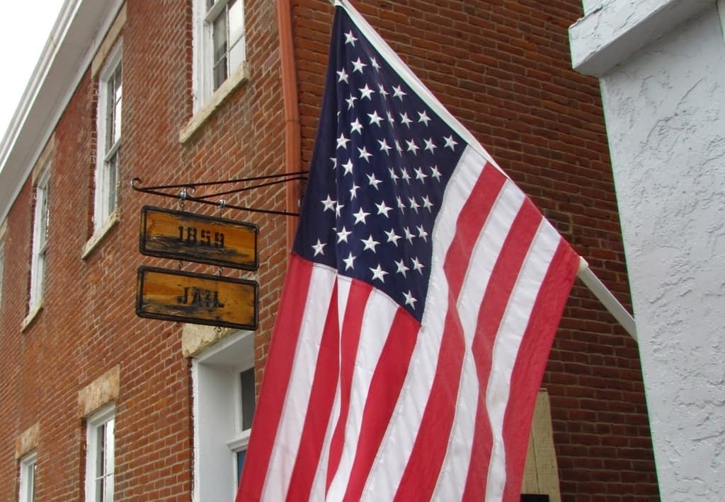 1859 jail - Independence jail - Independence Missouri - Frank James - history - frontier justice