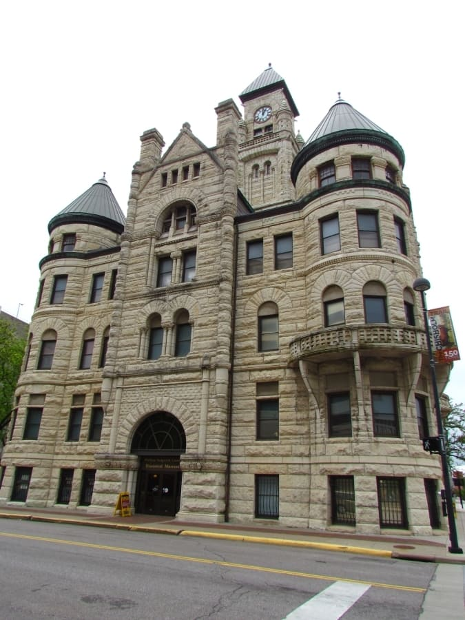 The historic building that houses the Sedgwick Museum.