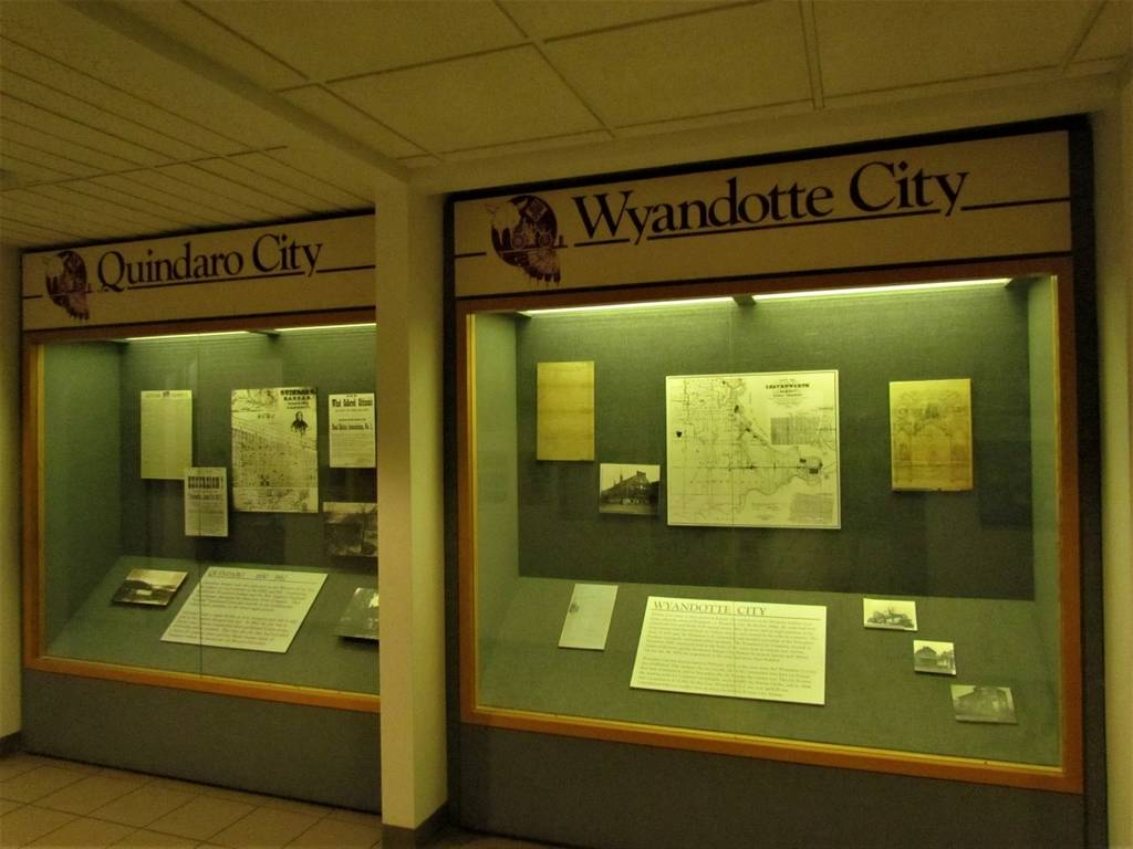 Wyandotte County Museum - Hopewell Indians - Quindaro - Kansas City Kansas - B 25 Bombers