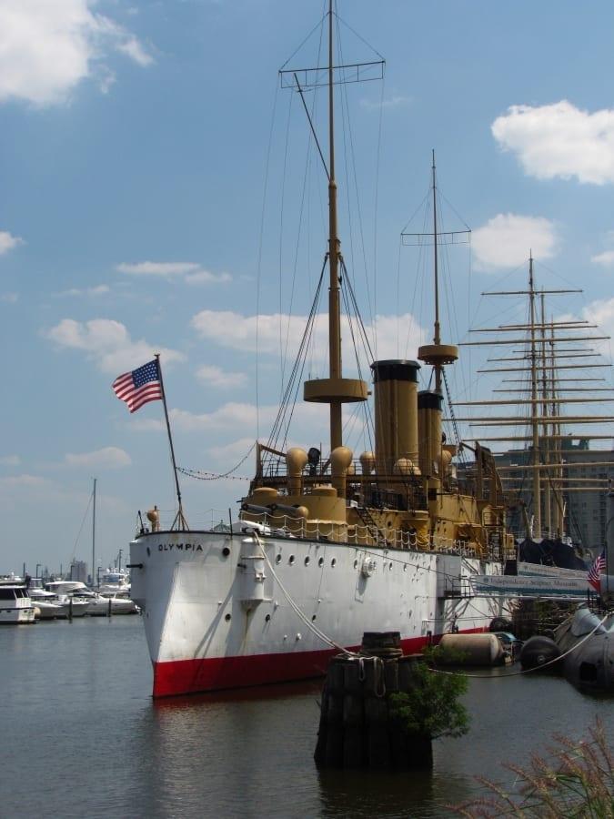 Spruce Harbor Park - urban park - pop up park - Philadelphia - hammocks - waterfront - Delaware River