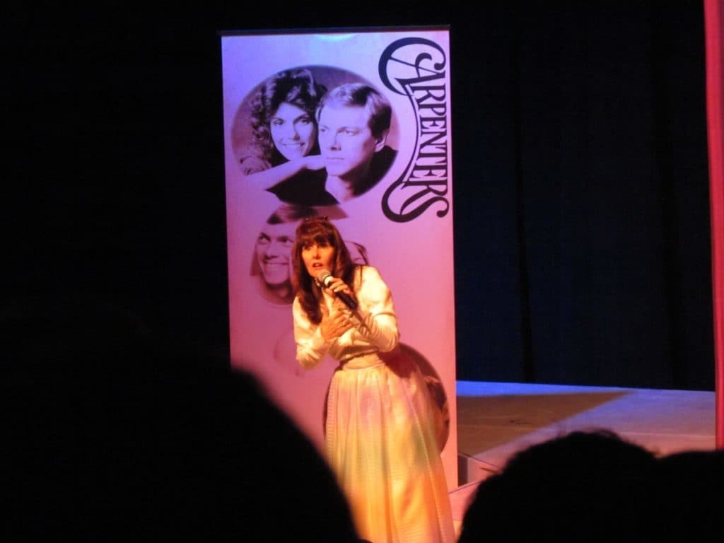 Diana Lynn performs as Karen Carpenter.