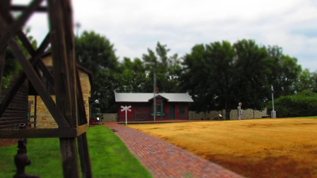 Old Prairie Town-Ward Meade Historical Site-Topeka-Kansas-Oregon Trail