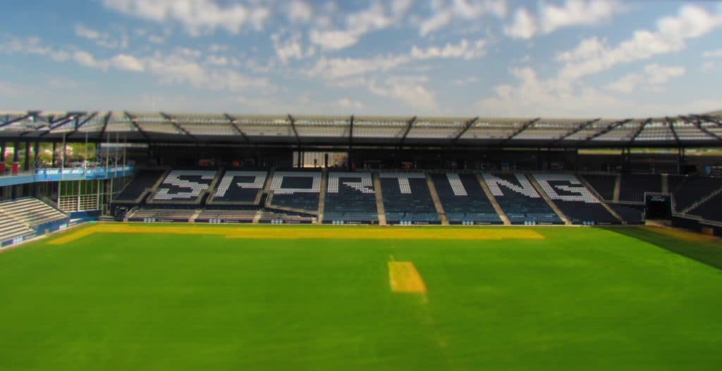Sporting KC soccer field.