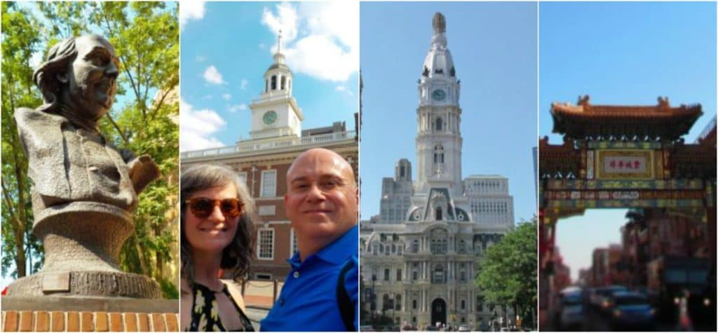 An assortment of sights in Philadelphia.