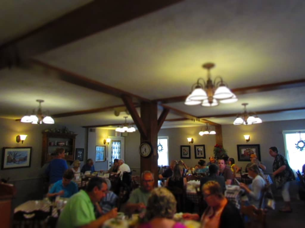 Ronneburg Restaurant-Amana Colonies-Iowa-communal kitchen-family style dining-restaurant