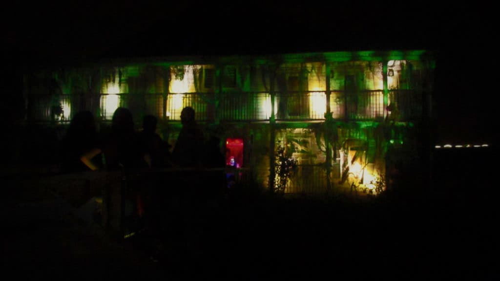 Blood on the Bayou is one of the eight mazes available for park guests.