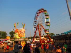 It is not unusual to find a carnival at the many fall festivals held in Kansas City.