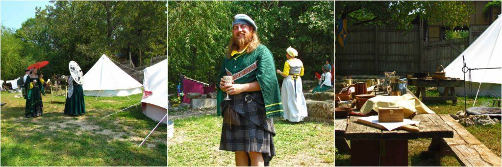 A new feature for 2017 is the addition of an encampment by a group from Scotland.