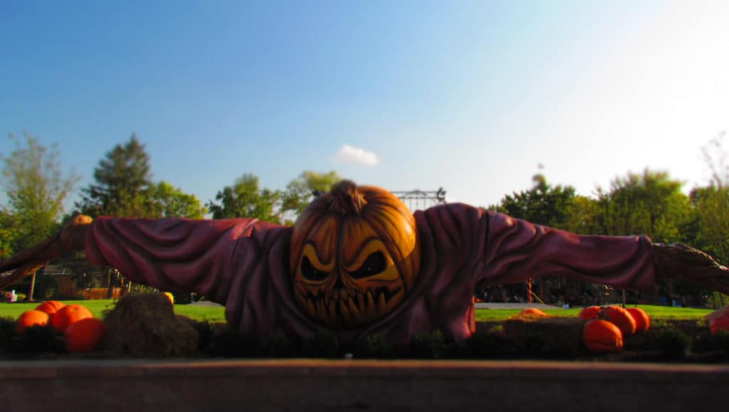 Worlds of Fun rolls out all of the scares for halloween haunt each Fall festival season.