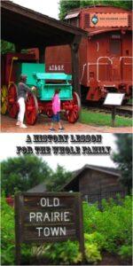 Old Prairie Town-Topeka Kansas-history