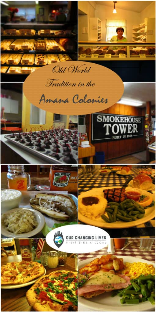 Amana Colonies-Iowa-restaurants-shops-bakeries-chocolate-attractions-lodging-entertainment-history