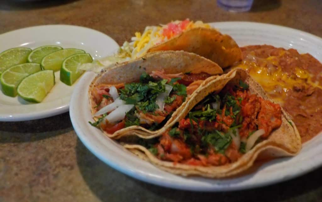 Street tacos are a unique alternative to the standard hard shell version.