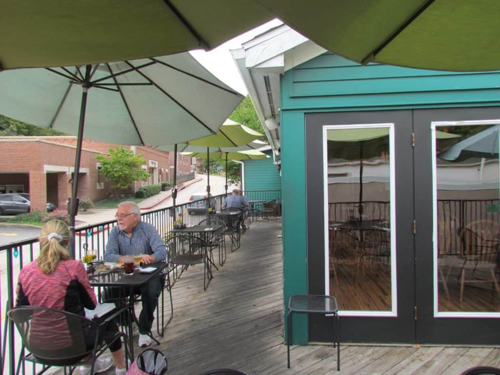 Local Flavor Cafe offers indoor and outdoor patio seating.