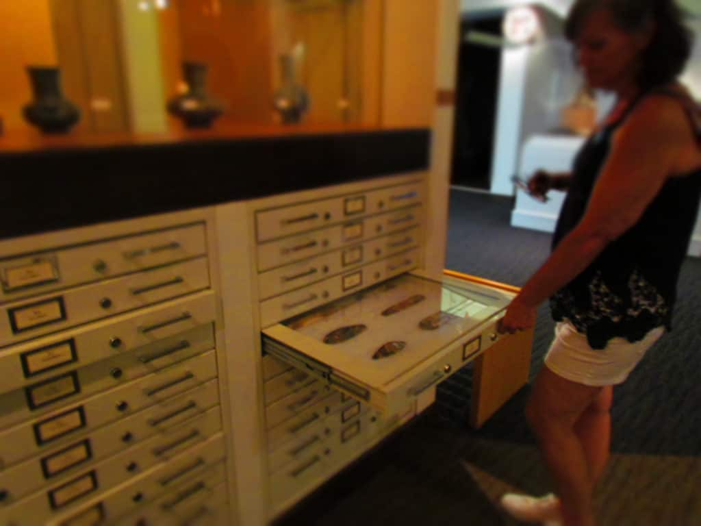 An extensive collection of artifacts and tools are on display at the Gilcrease Museum.