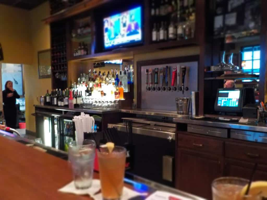 Hereford House offers a full bar with bartenders who are fluent in mixology.