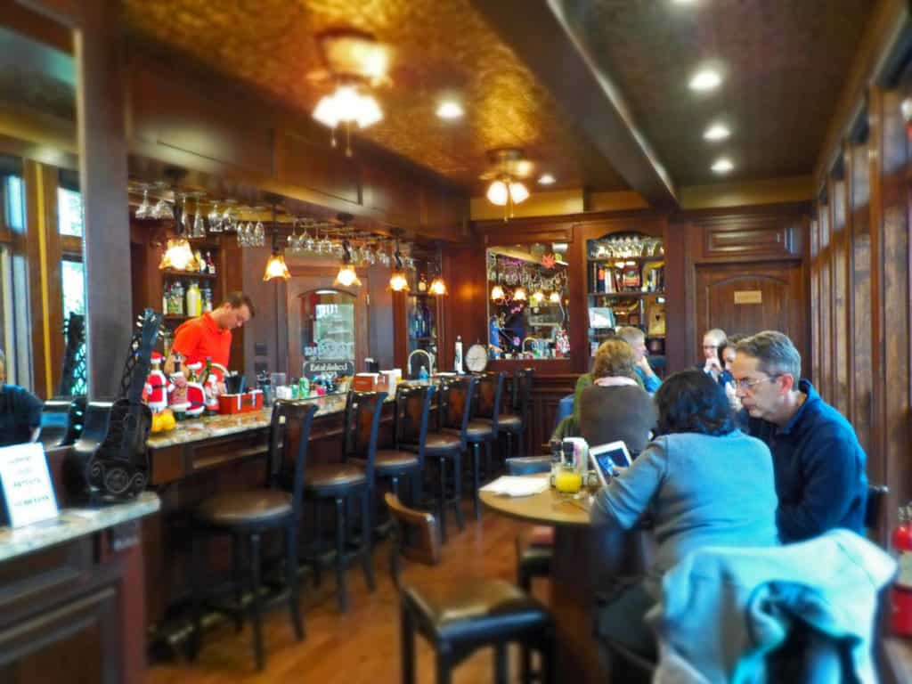 The Backstage Cafe and Bar is a great place to grab a bite to eat or an adult beverage.