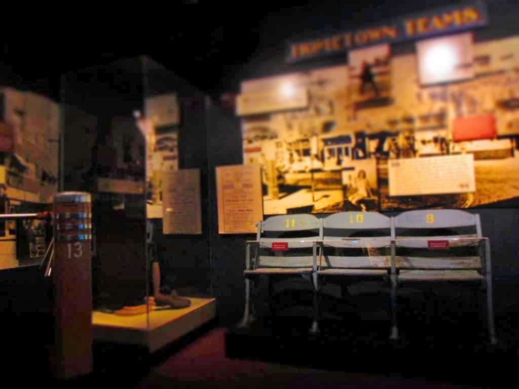 Artifacts from the Negro Leagues fills the museum, and offers a glimpse into the history of this often overlooked group of players.