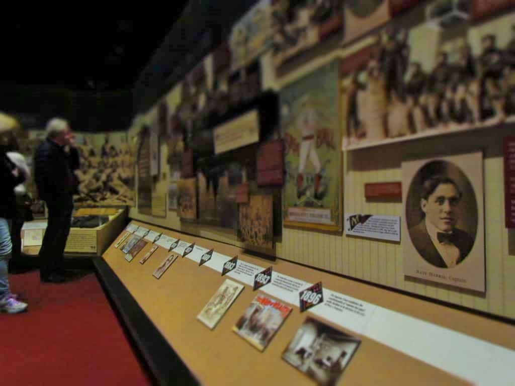 The history of the Negro Leagues is explained in chronological order.