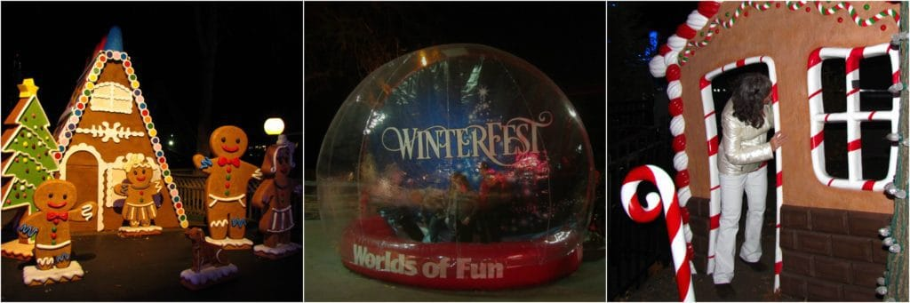 Winterfest is a Worlds of Fun attraction that signals the end of the fall festival season.
