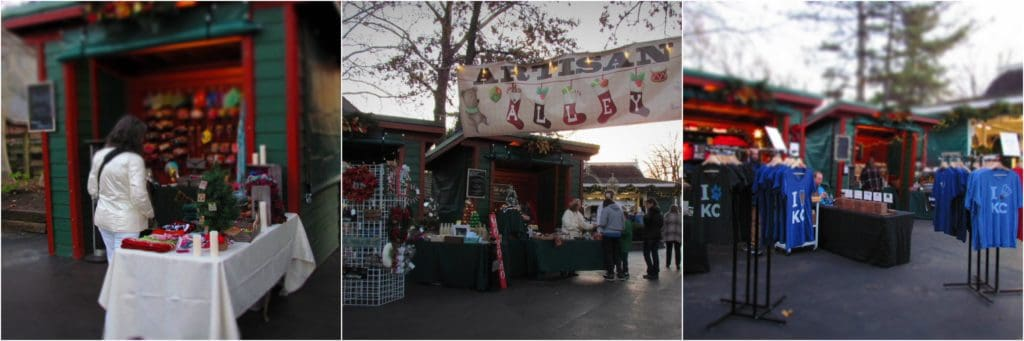 In Artisan Alley you can find tons of handmade crafts from around the Kansas City region.