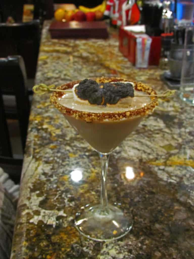 A S'mores cocktail is the perfect end to a day of exploring in Branson, Missouri.