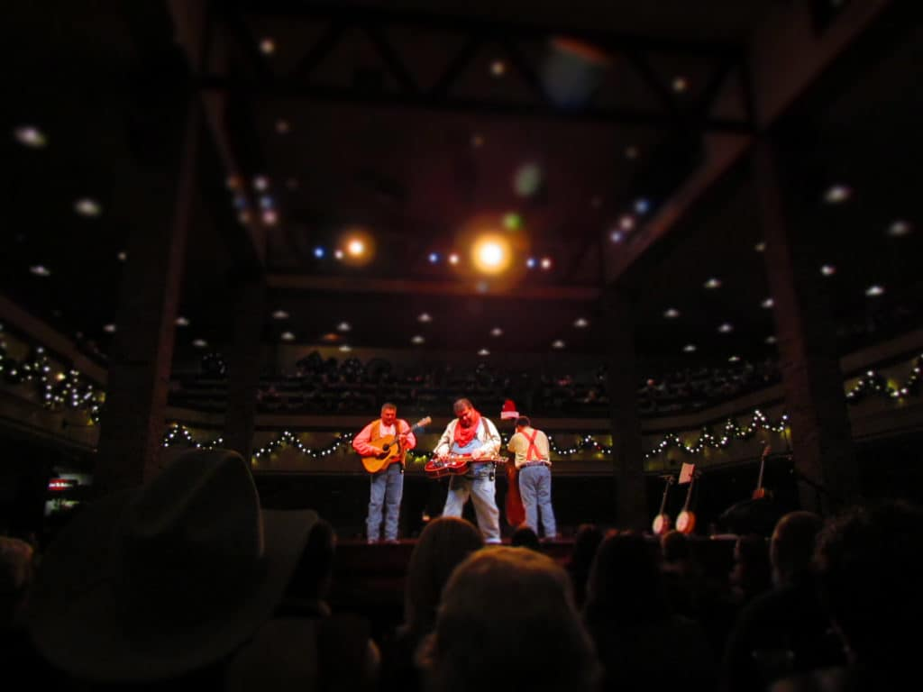 Dixie Stampede offers pre-show entertainment to entertain the assembling crowd.