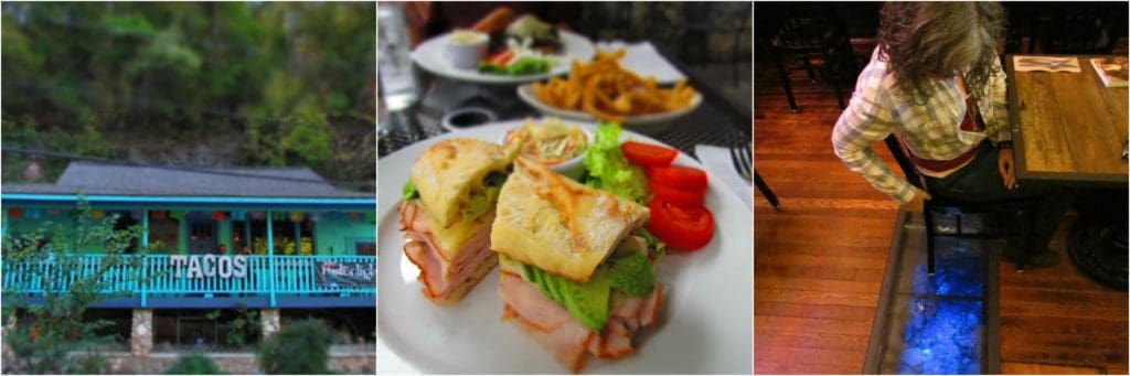 Main Street offers a variety of dining options.