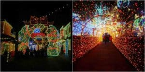 Christmas in Midtown has millions of lights.