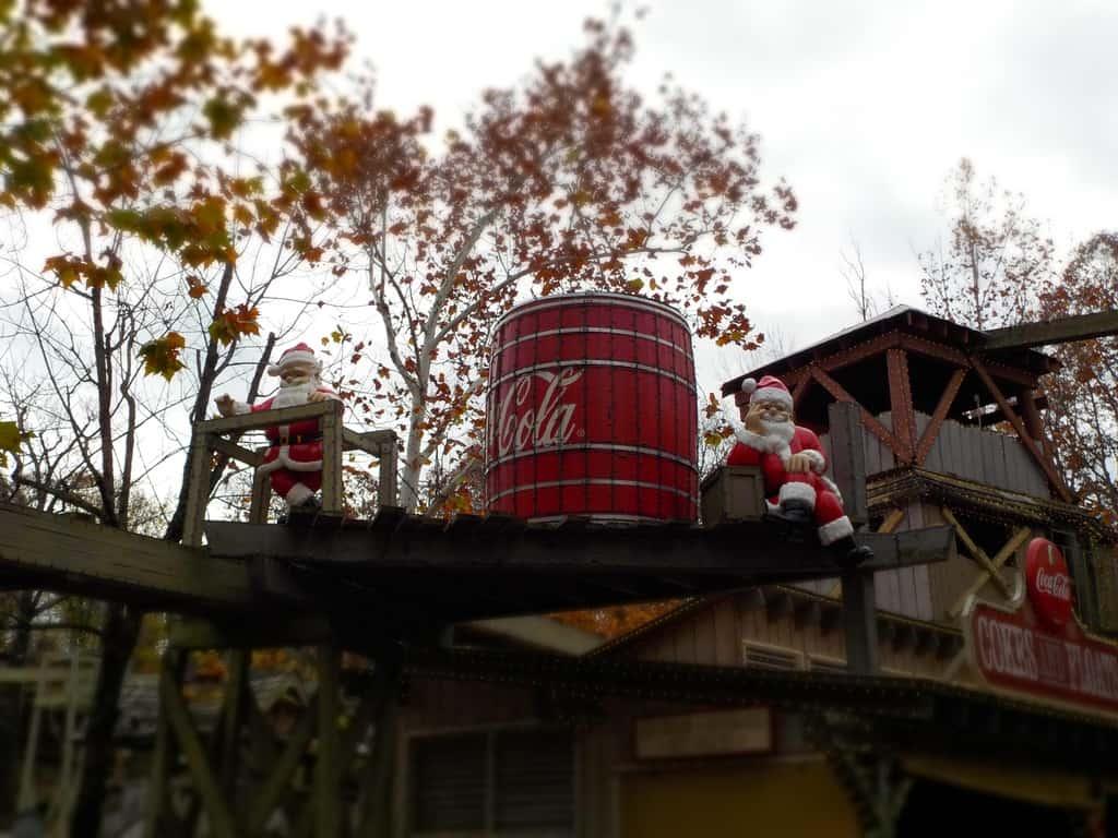 Branson, Missouri-Silver Dollar City-Dixie Stampede-White River Fish House-Branson Landing-Ozarks-Christmas-holiday travel-vacation