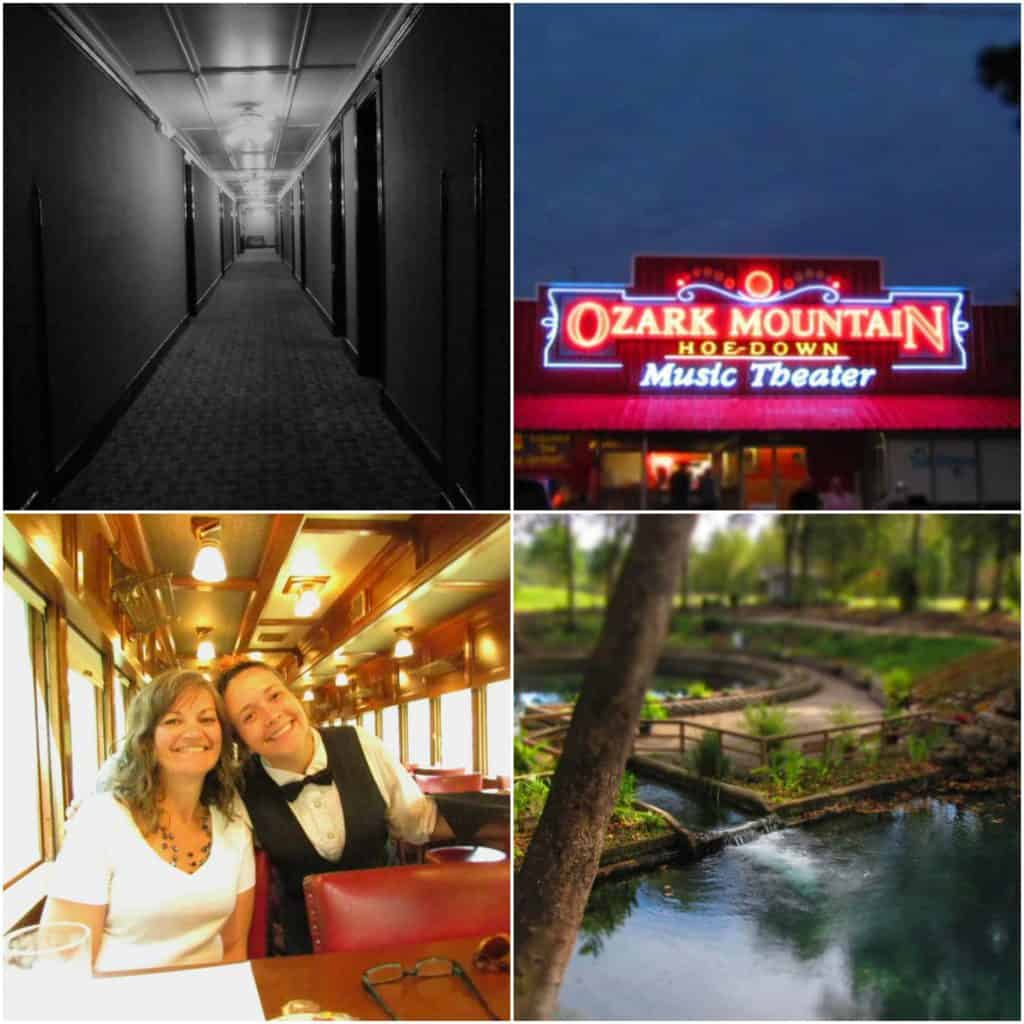 There are plenty of attractions for all ages to enjoy in Eureka Springs, Arkansas.