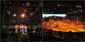 Entertainment is key at Dixie Stampede.