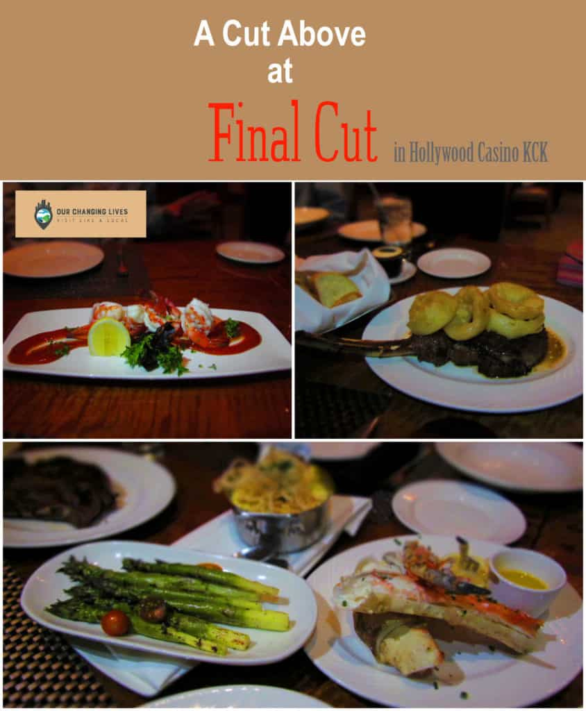 Final Cut-Hollywood Casino-Kansas City Kansas-steakhouse-upscale dining-movie memorabilia-steaks
