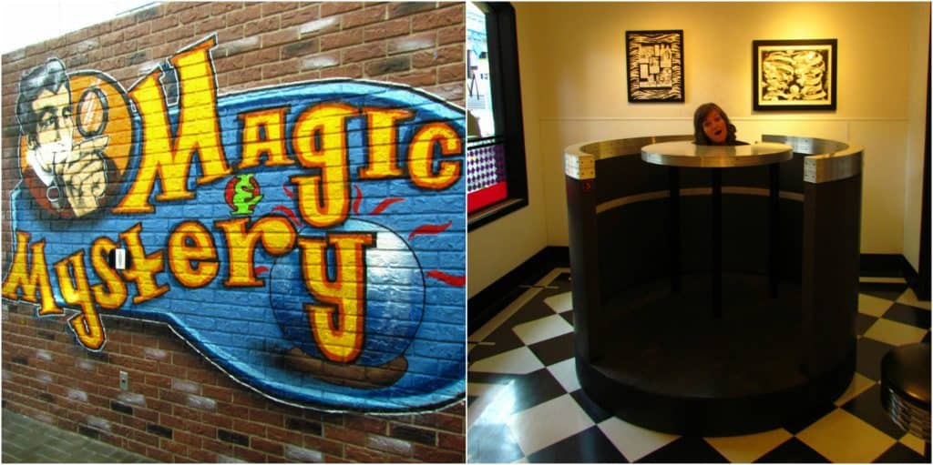 The Magic and Mystery section is filled with assorted optical illusions.