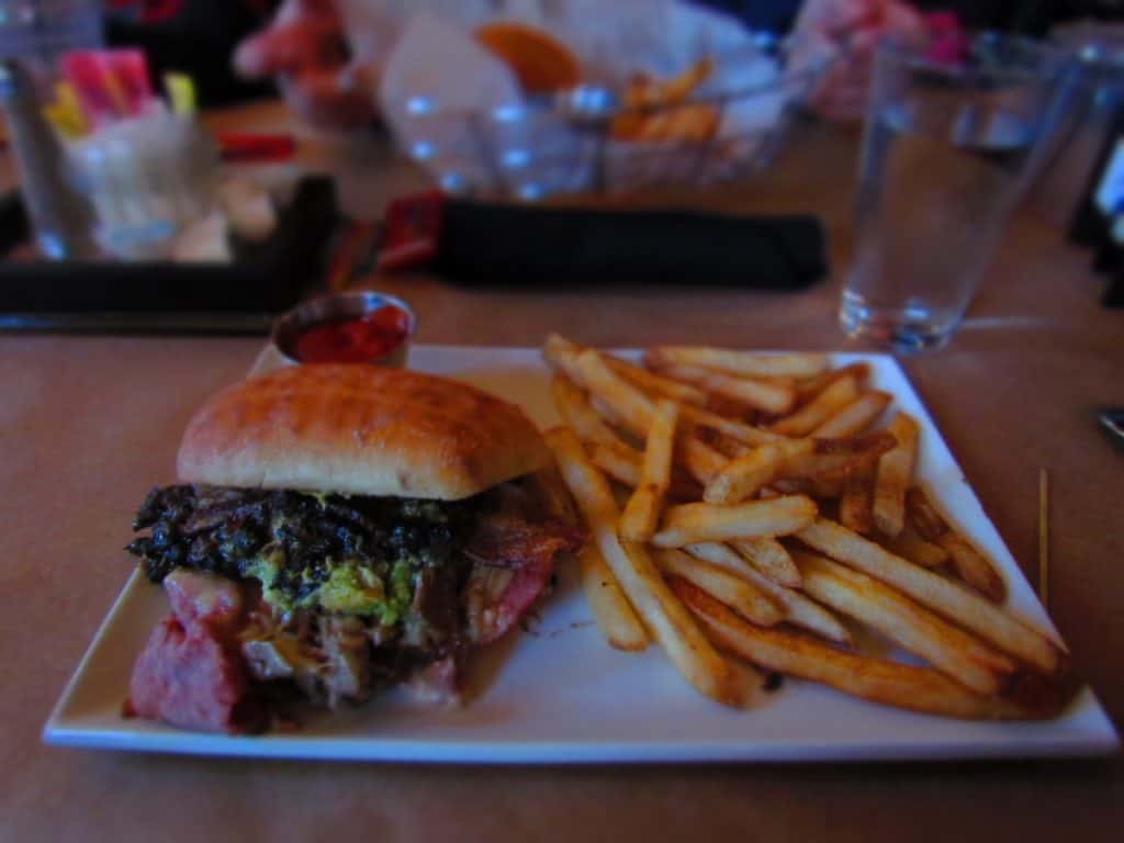 Torta de Puerco was a wild ride of flavors that kept Jeff coming back for more.