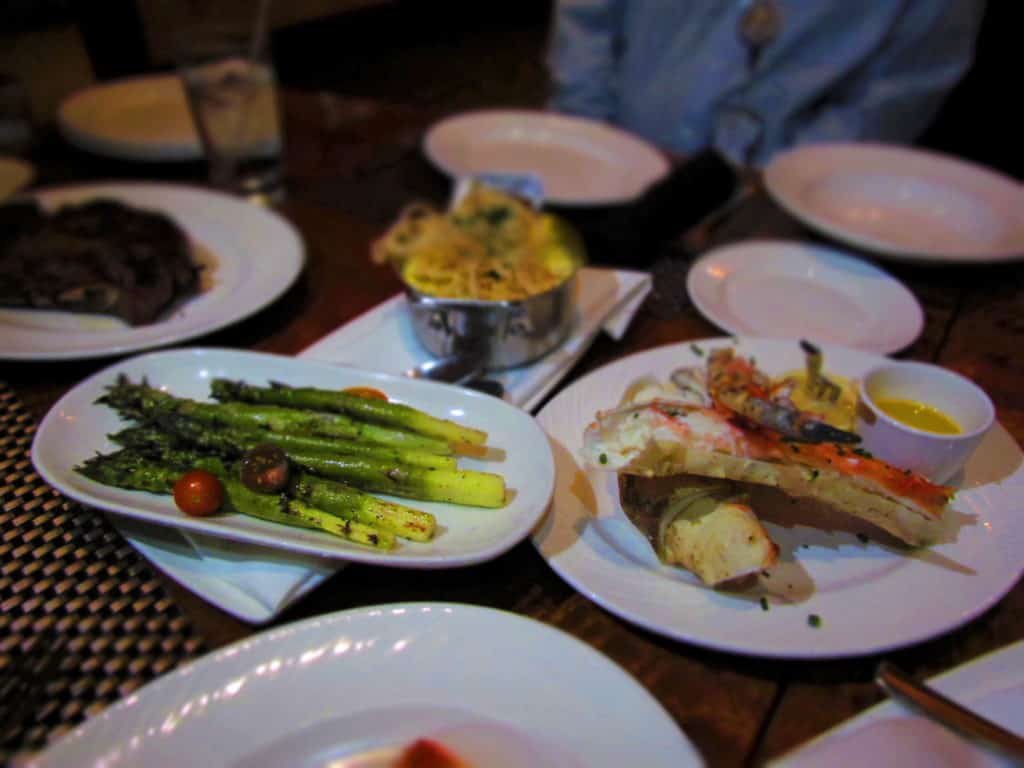 A table filled with assorted dishes.