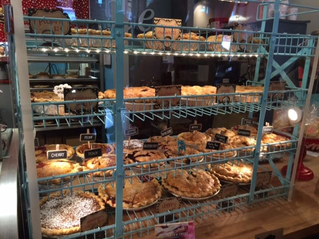 Pie is Crystal's favorite, but only when it comes from The Upper Crust in Overland Park, Kansas.