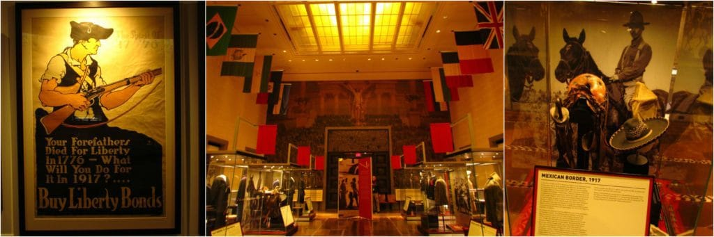 The original museum wings hold additional displays about WW1.