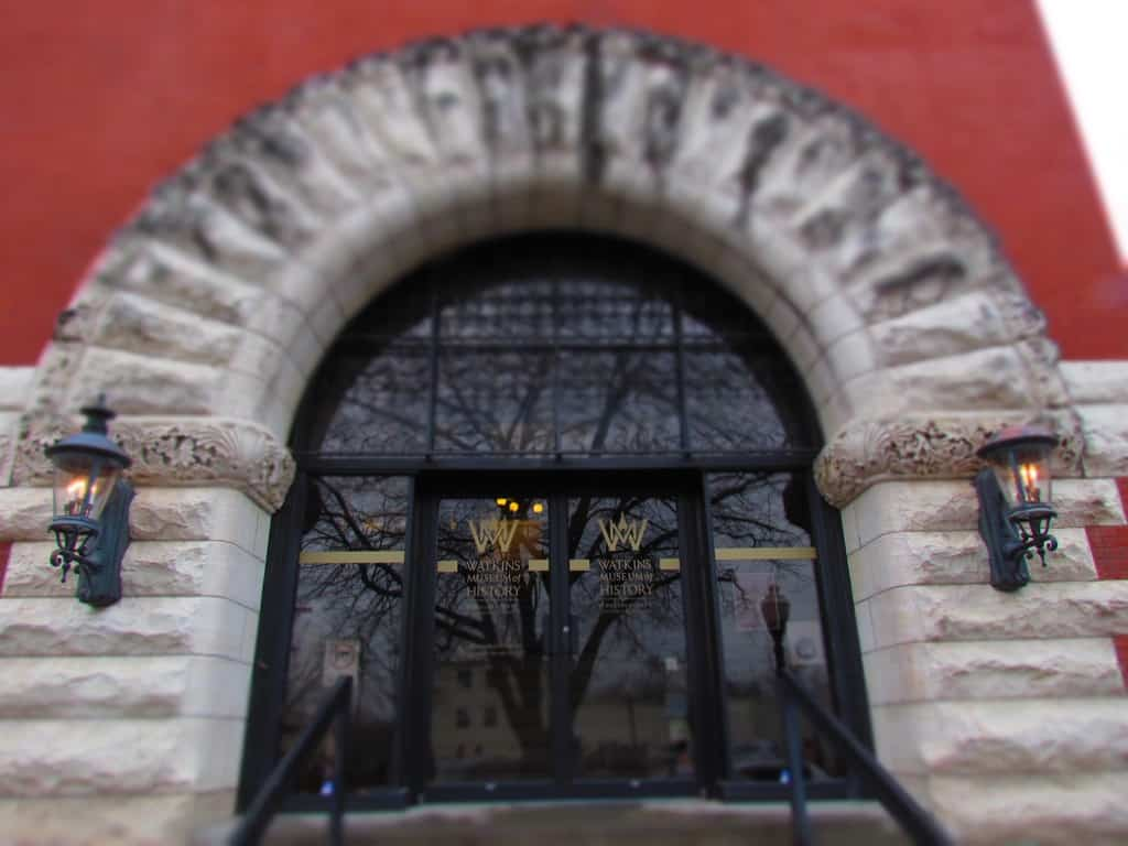 Watkins Museum-Lawrence Kansas-Kansas University-history-Jayhawks-abolitionists-Civil War-Quantrill's Raid-Mass Street