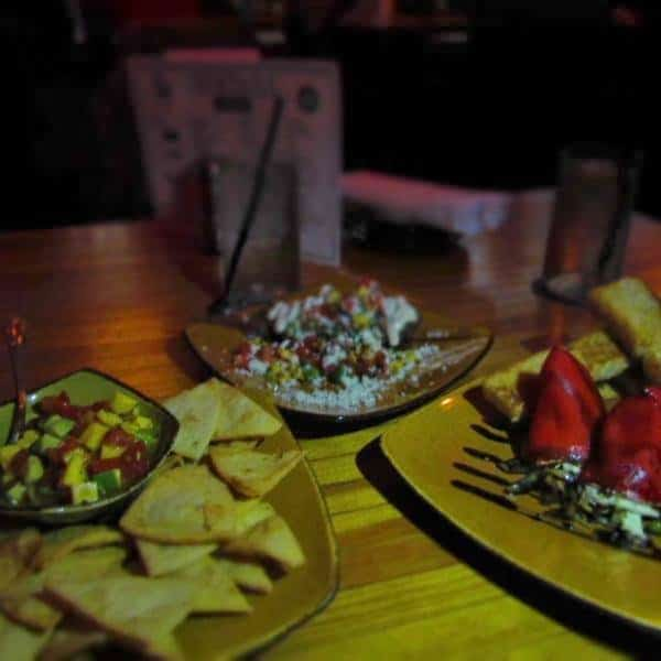 Small bites are the main attraction at Bourbon & Baker in Manhattan, Kansas.