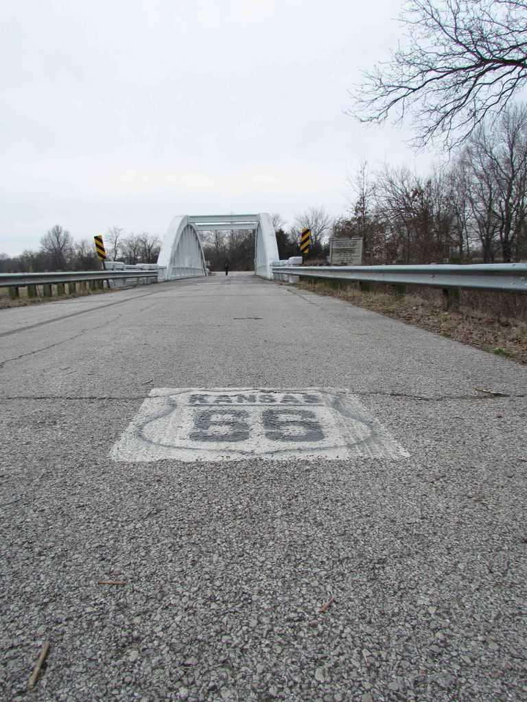 Rainbow Bridge-Marsh Bridge-Route 66-Riverton-Dean Walker-Instameet-Travel Kansas