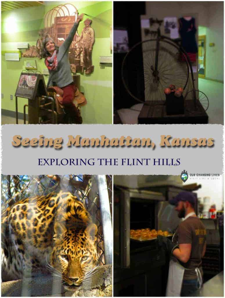 Manhattan, Kansas-Flint Hills-Riley County-restaurants-zoo-museum-nature center-daytrip