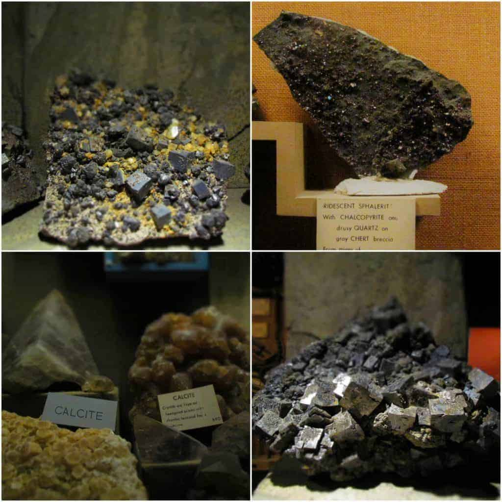 A sampling of minerals show the shinier side of collecting.