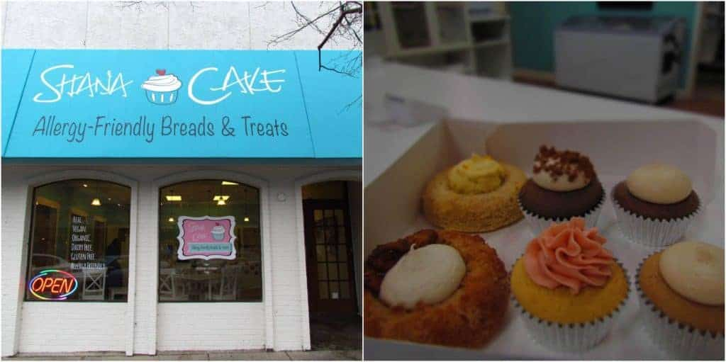 Shana Cakes is a cupcake shop that offers gluten-free versions of small cakes.