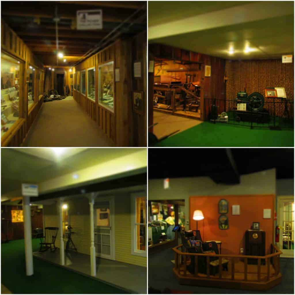 The Baxter Springs Historical Museum is filled to the brim with thousands of artifacts.