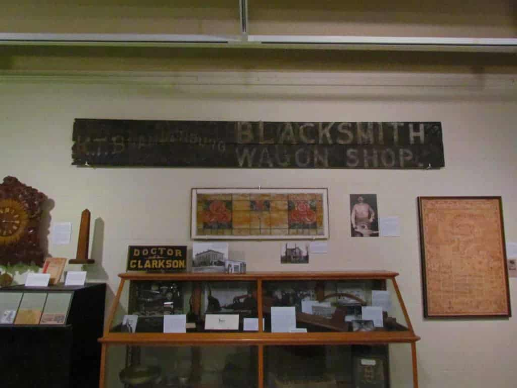 The Riley County Historical Museum tells the history of the region.