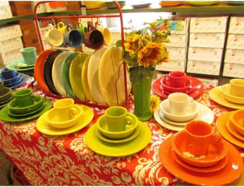 Finding Fiestaware At Cockrell Mercantile Co.
