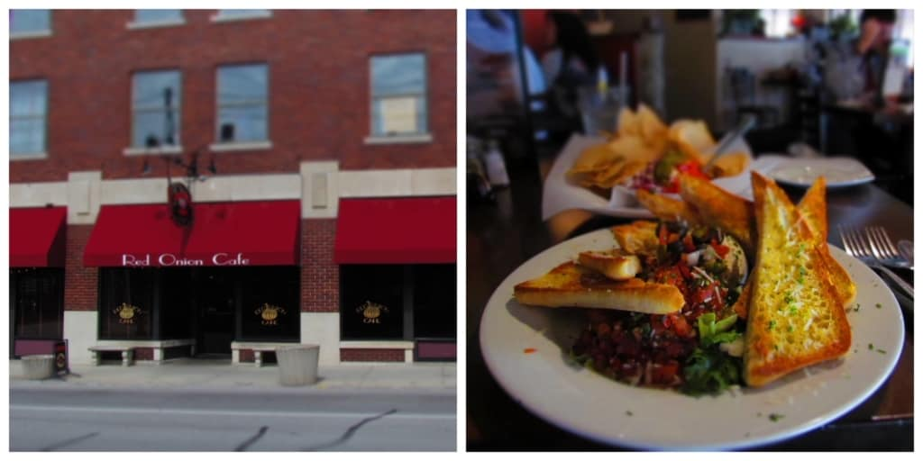 Red Onion Cafe offers customers vibrant and flavorful dishes served in a relaxed atmosphere.