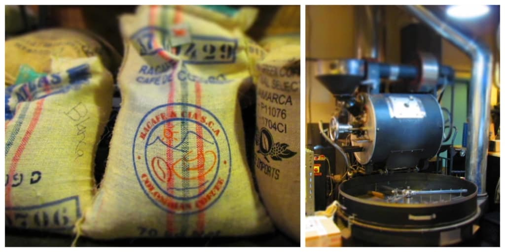 Blueprint Coffee is a local coffee roaster.
