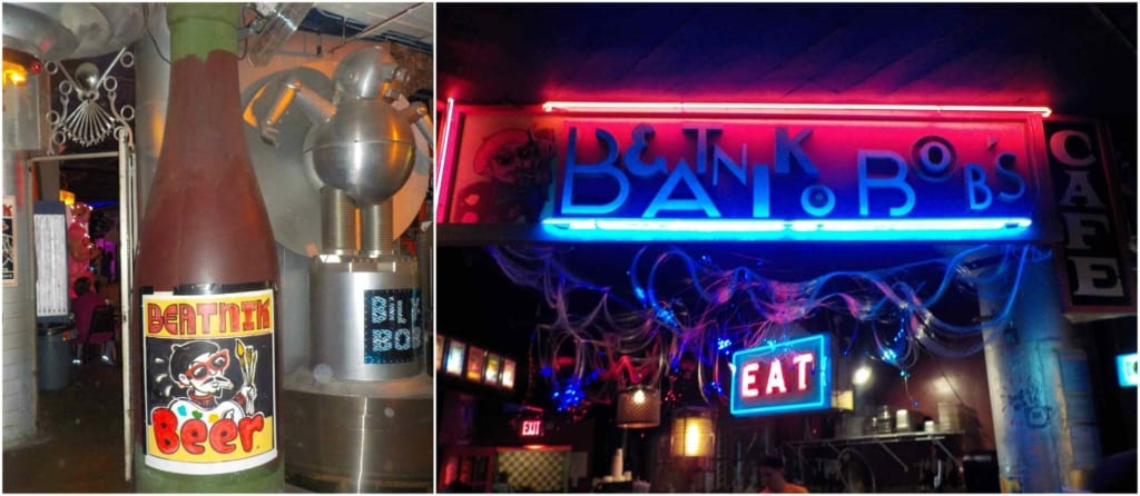 City Museum has multiple dining venues including Beatnik Bob's where guests can enjoy vintage pinball while taking a break from exploration.