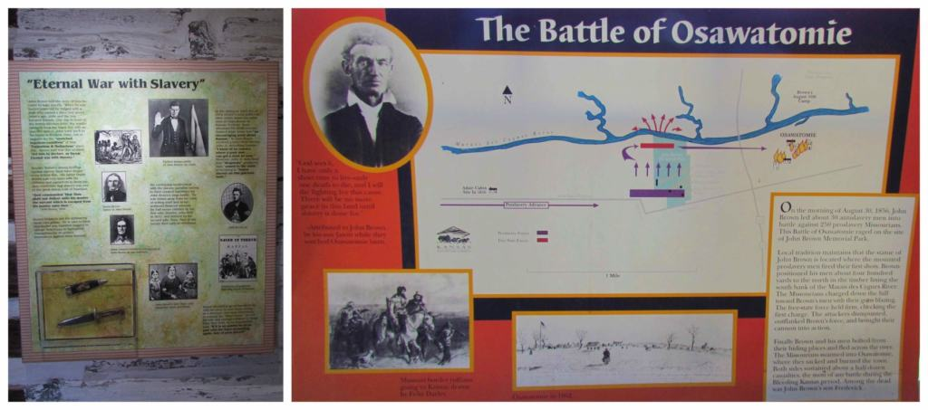 The Battle of Osawatomie was a turning point in John Brown's life.